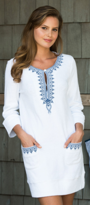 Stylish Sun-Protective Coverup